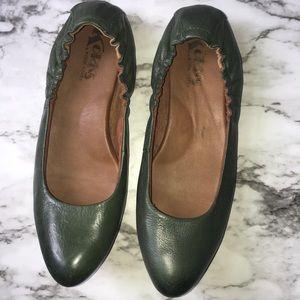 KORK-EASE pine colored Julie ballet flats SIZE:7.5